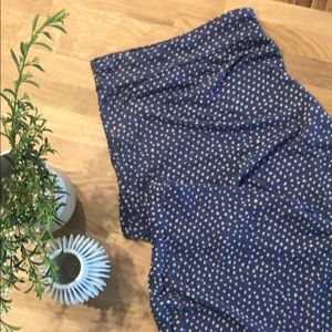 Alternative Apparel Polka Dot Maxi Skirt